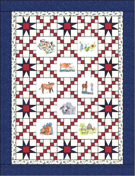 Deep in the Art of Texas Pattern