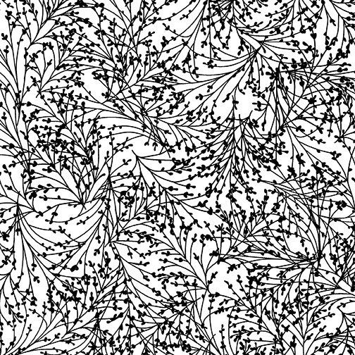 Night & Day Tossed Sprigs White