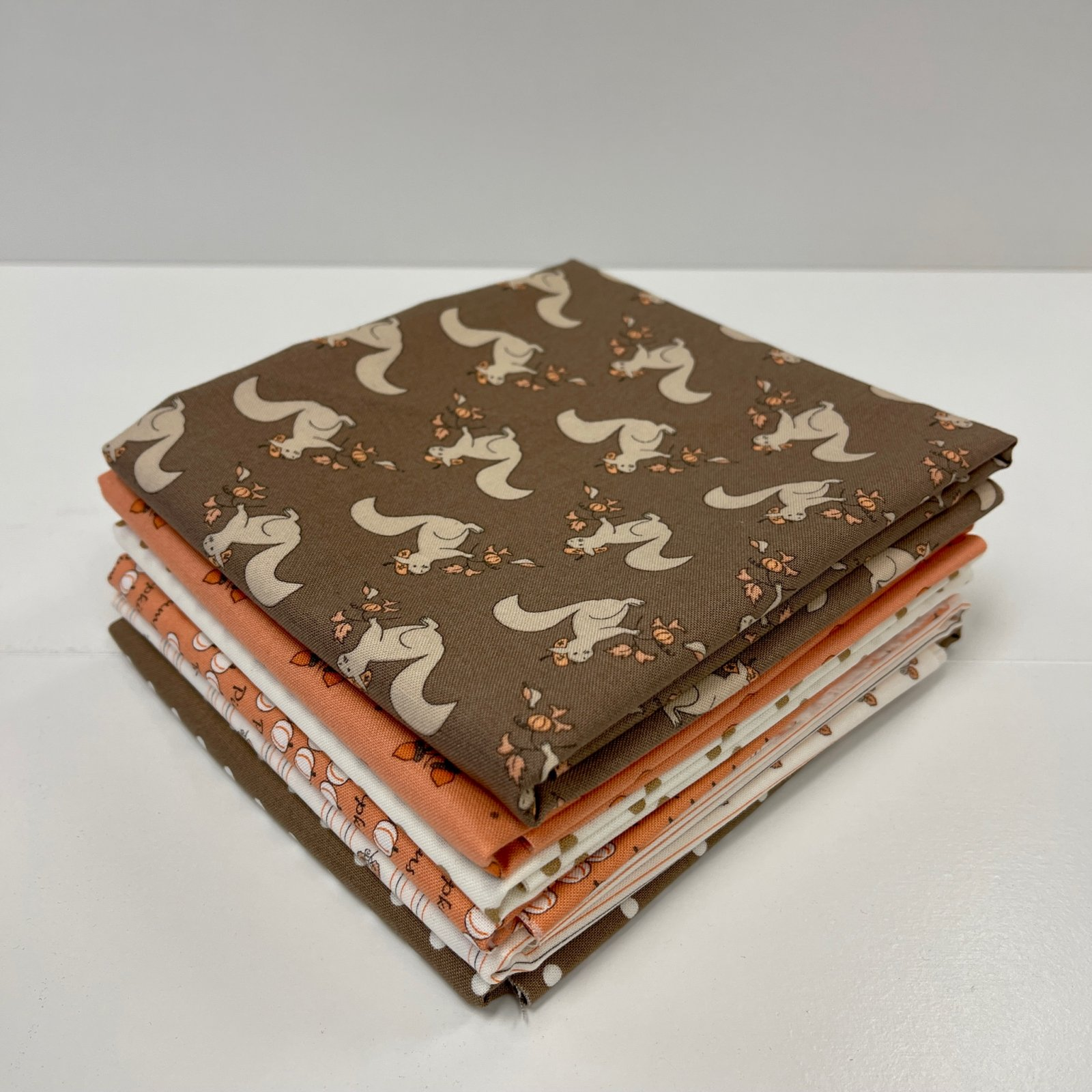 Squirrely Girl 1/2yd Bundle 6pc