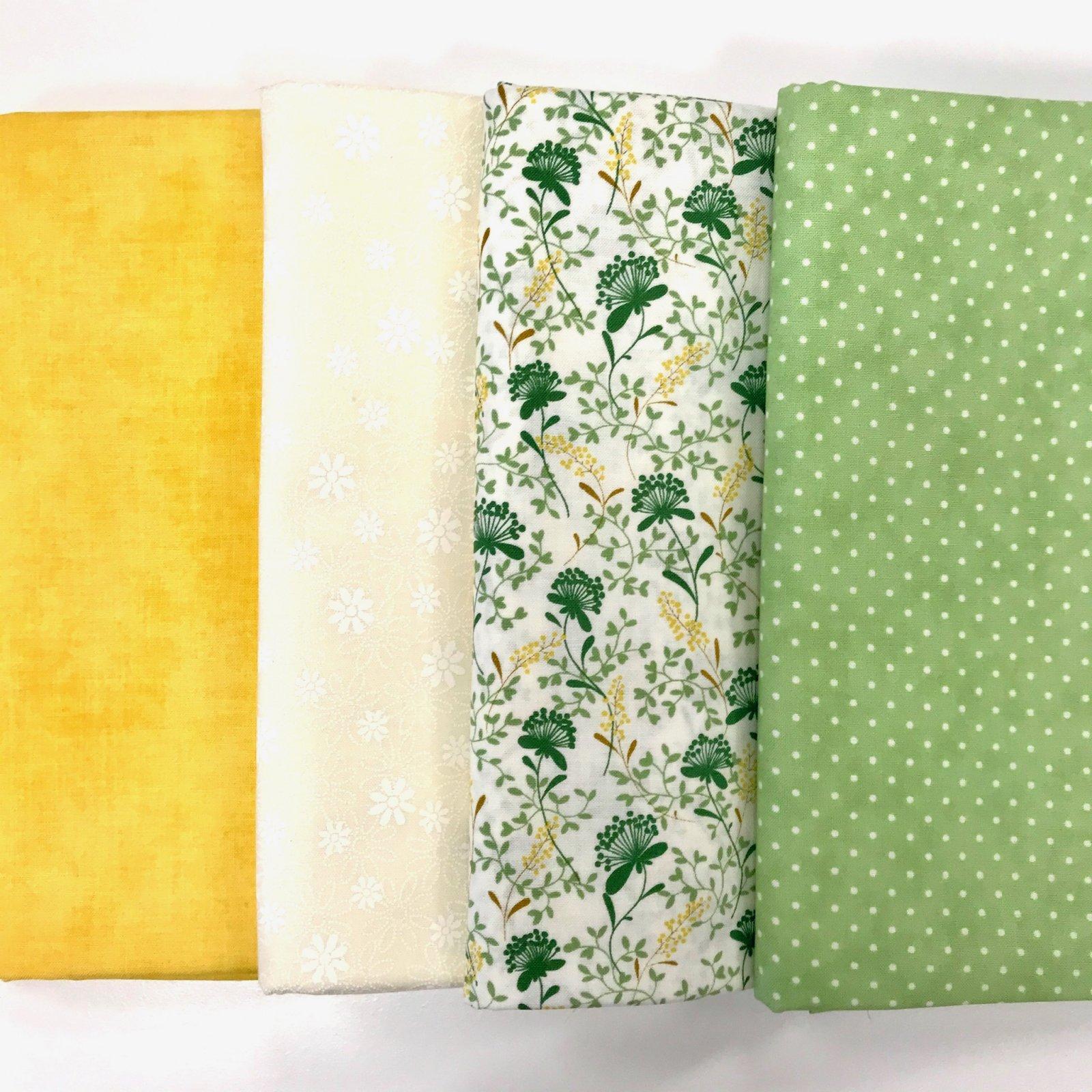 Summer Floral 4yd Bundle