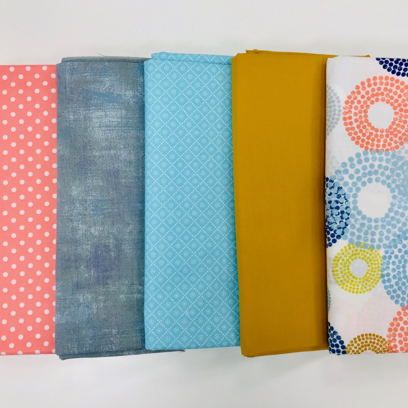 Modern Circle 5yd Bundle