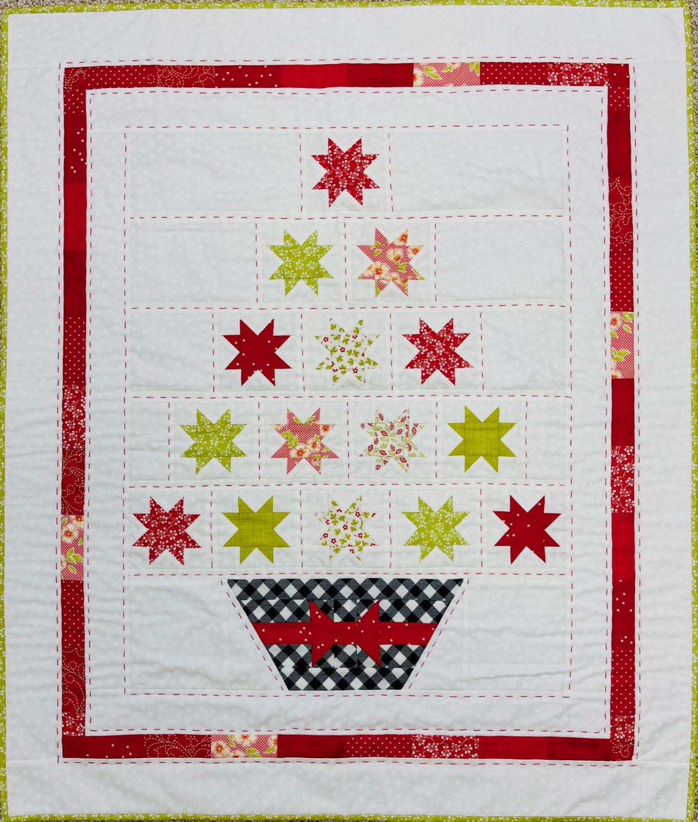 Christmas Tree Kit w/ pattern