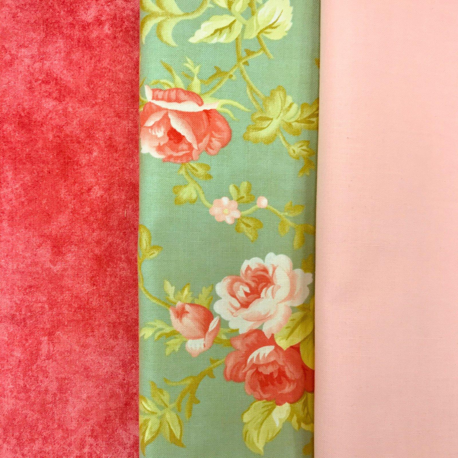 Pink Rose 3yd Bundle