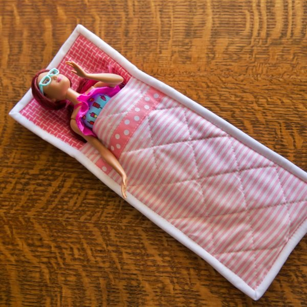 Kit - Barbie Doll Sleeping Bag