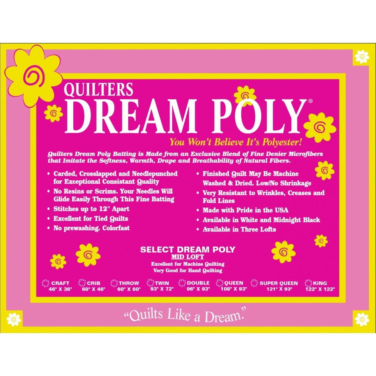 Quilters Dream Poly Select Double