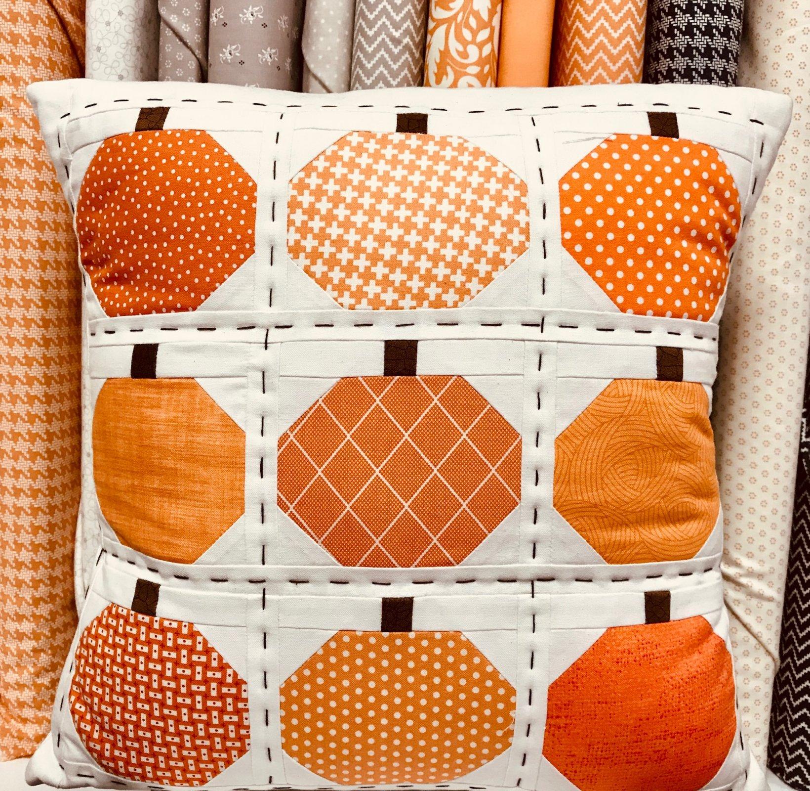 Pumpkin Pillow Kit