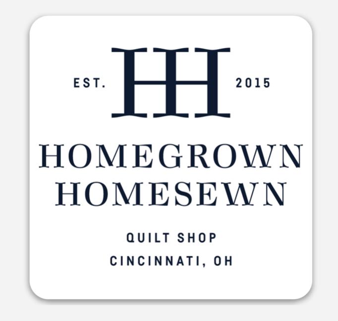 HomeGrown HomeSewn HH Logo Magnets
