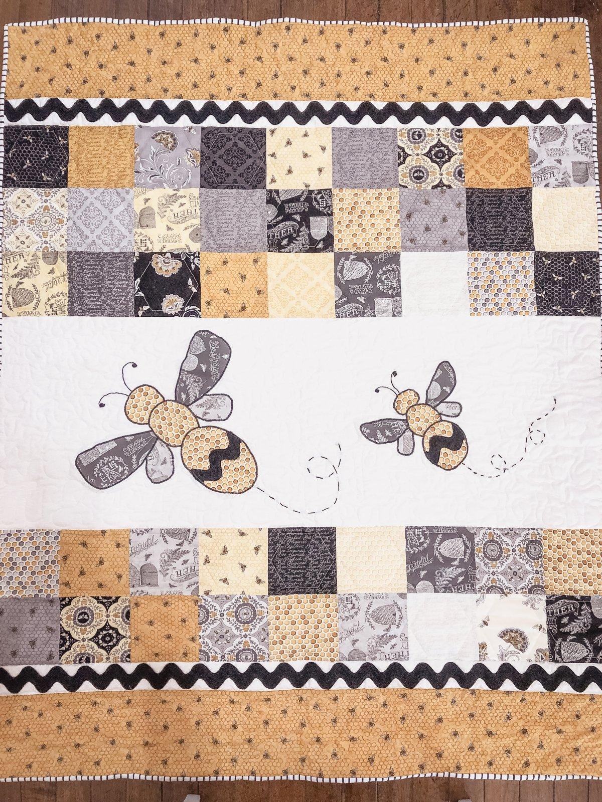 Mommy & Me Bee Joyful Quilt Kit