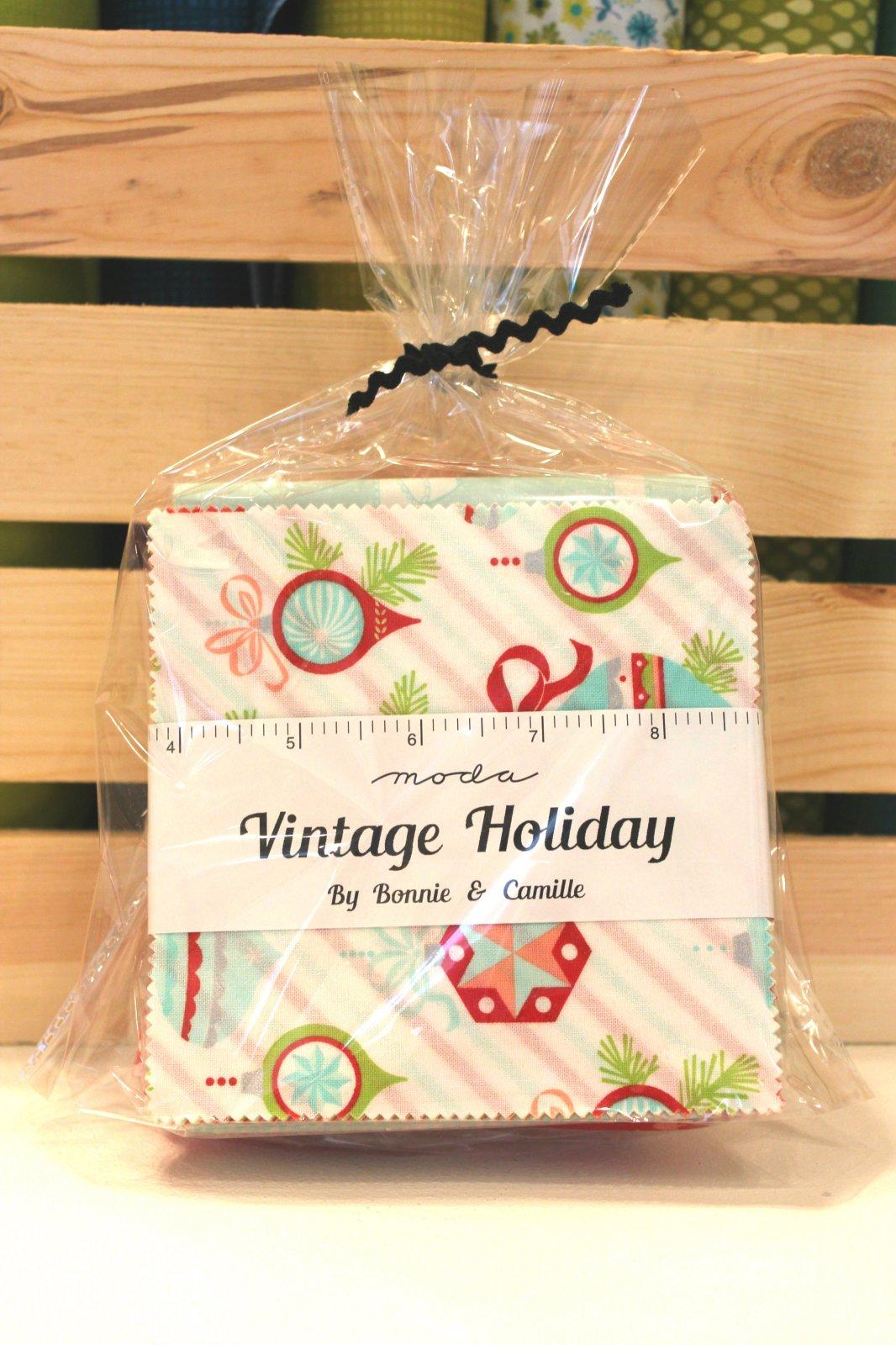 Vintage Holiday Mini Quilt Kit