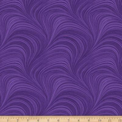 Fabric Wave Texture - grape (62)