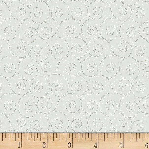 Fabric Basically Hugs Flannel 25041 GRY1F
