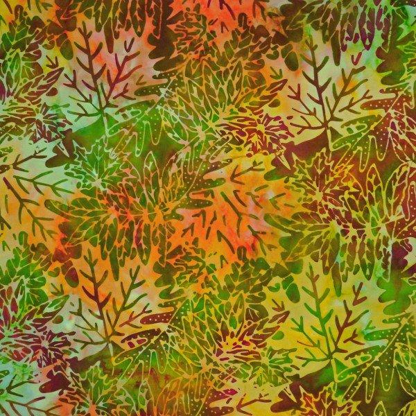 Fabric Batik OR-5-9785 India Chutney