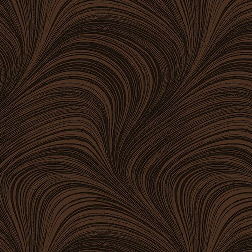 Fabric Wave Texture 02966-77 Brown