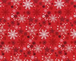 Fabric Snow Delight 3858