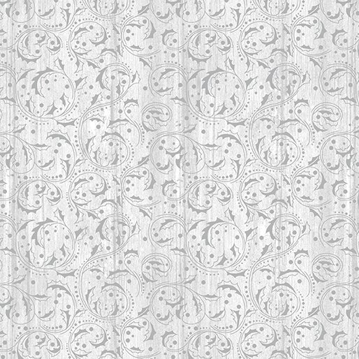 Fabric Washed Scroll Light Gray 04212 08