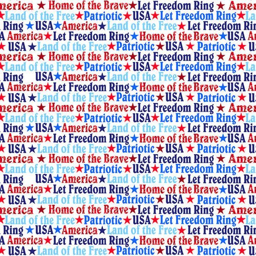 Fabric America Home Of The Brave 4629-1