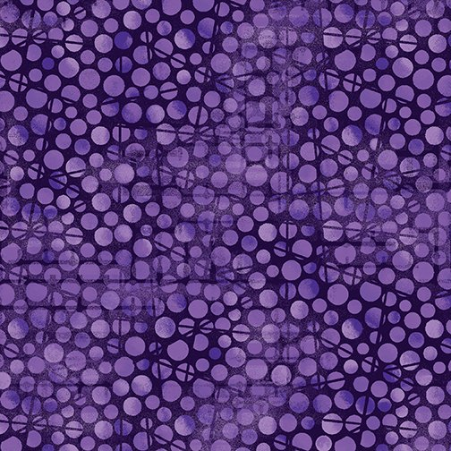 Fabric, Moonlight Poppies Texture Purple