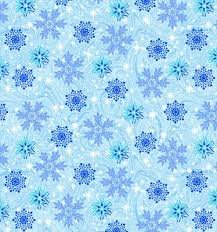 Fabric Snowy Chritsmas 61462-2GL