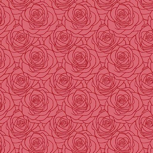 Fabric Festival of Roses 6642P-10