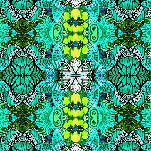 Fabric  Metamorphosis Jade 6866 47