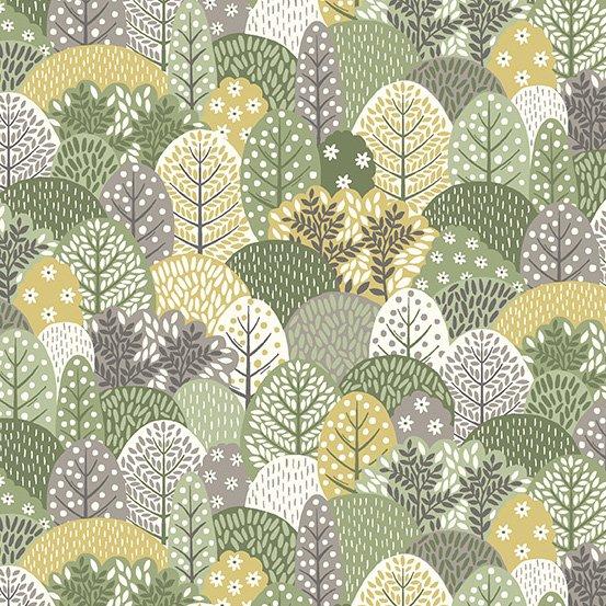 Fabric Clara's Garden 2265-G