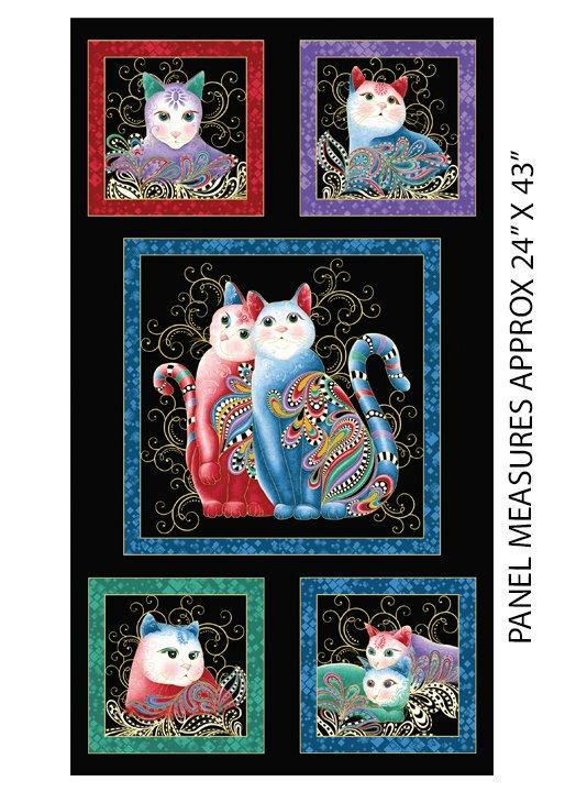 Fabric Cat 2 Purr Fect Panel 7550M12