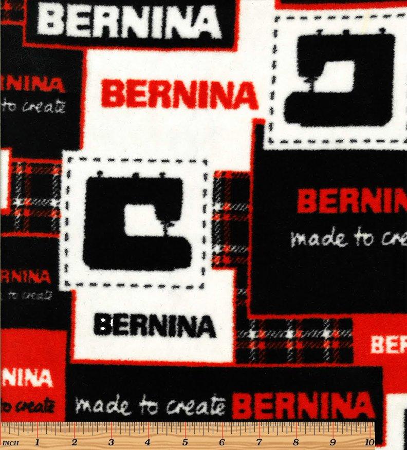 Fabric Bernina Logo Fleece