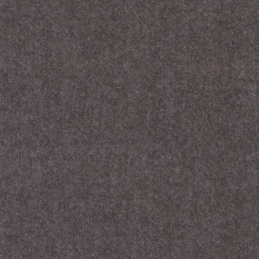 Wool Tweed Flannel Charcoal