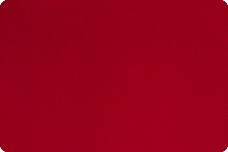 Backing Fabric Red 90 Minky Cuddle