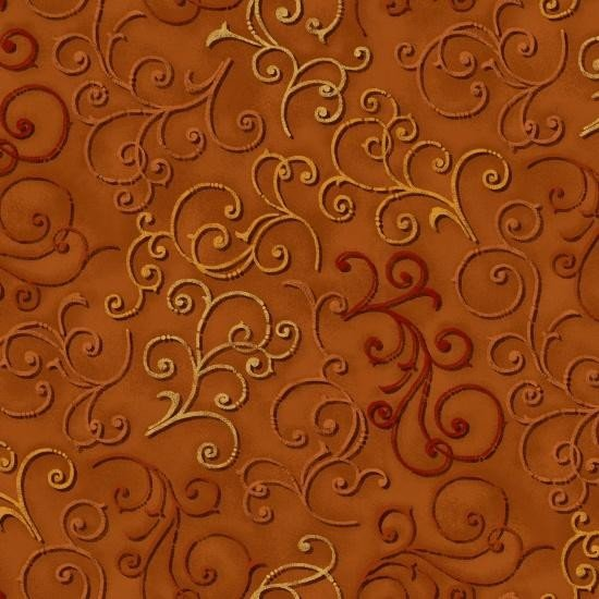 Fabric Fall Festival Orange 4263-35
