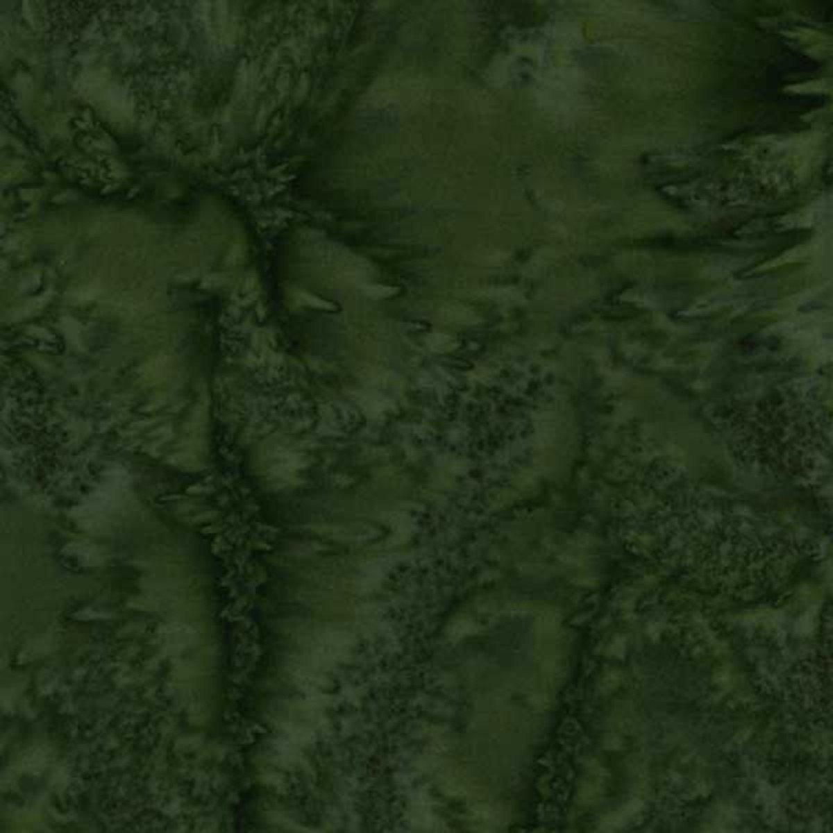 Fabric Batik Dark Green AR0196