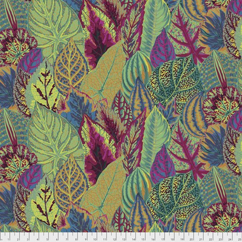 Fabric Coleus - Moss PWPJ030.MOSSX Kaffe Fassett