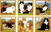 Multi Feline Fine Panel 80151