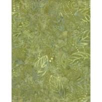 Fabric Floating Leaves 221-774 Green
