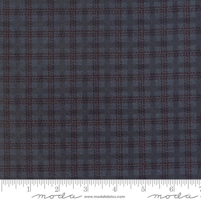 Wool & Needle VI Lake Cross Plaid by Primitive Gatherings for Moda Flannel
