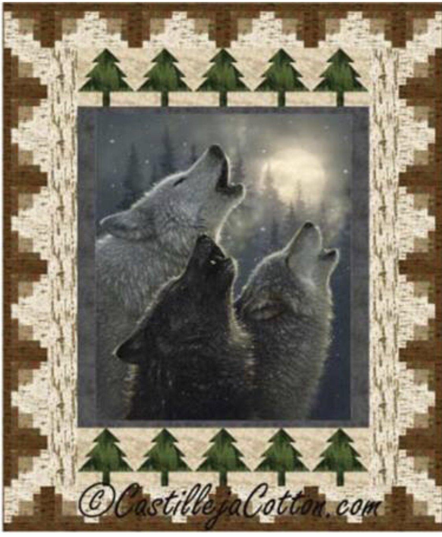 Wolves Quilt Kit