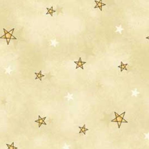 All Things Christmas - Cream Stars by Gail Pan