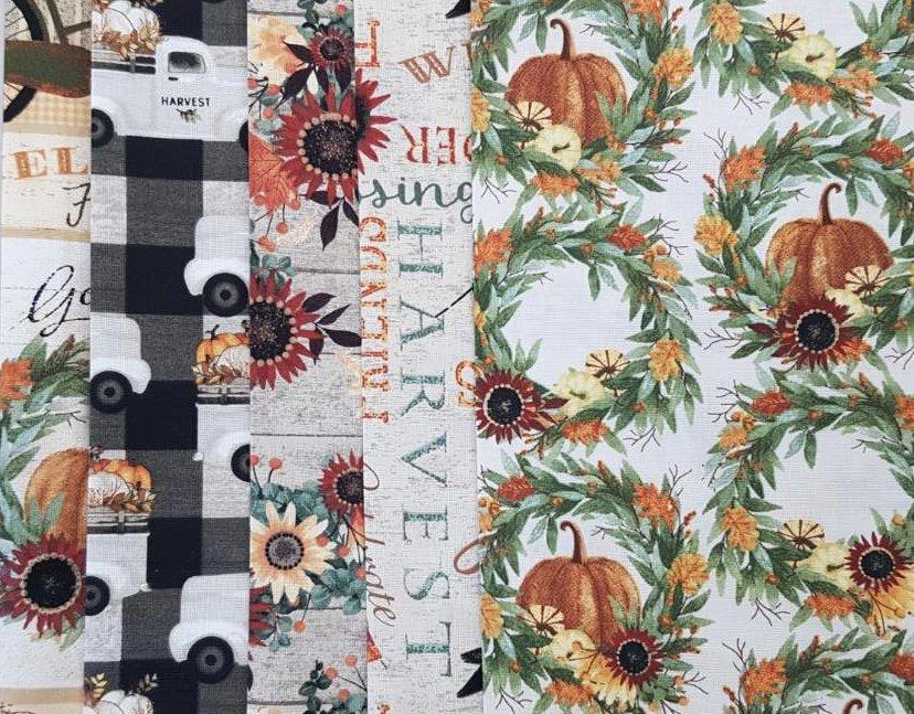 Happy Fall - 10.5 x WOF Roll - 5 pcs