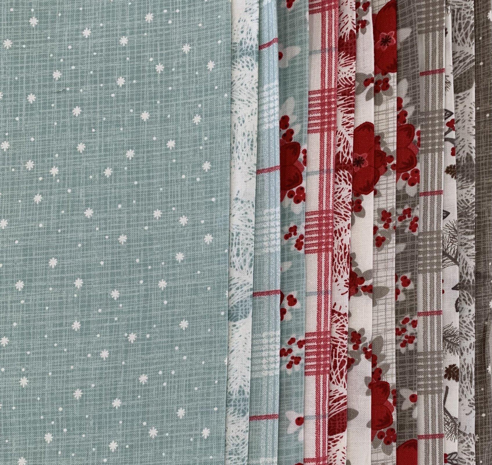 Return to Winter's Lane - 10.5 x WOF Roll - 13 pcs