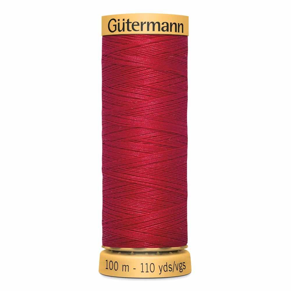 GUTERMANN Cotton Thread 100m -Bright Red