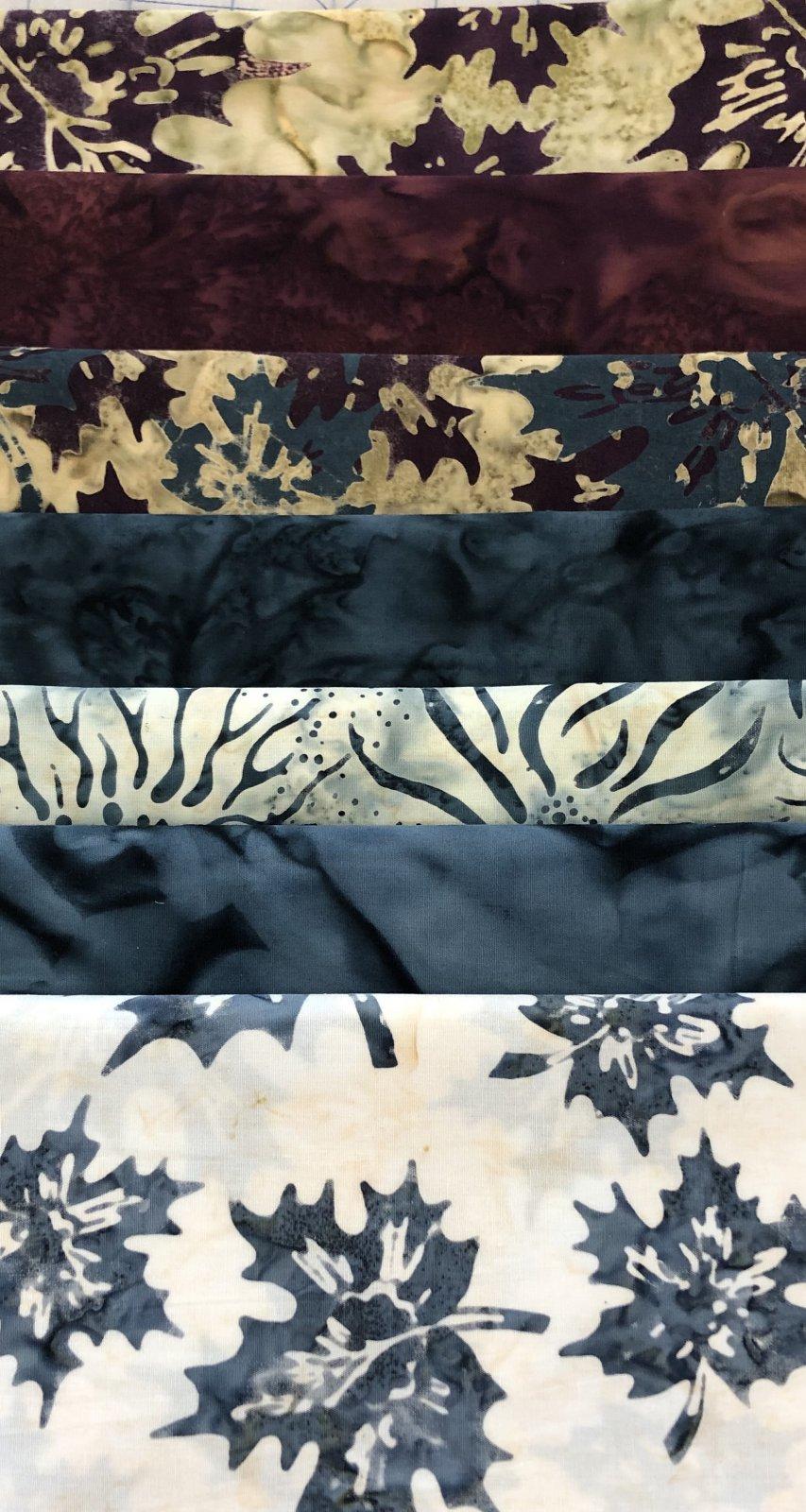 Batik Canadiana Fat 1/4 Bundle - 7 pc