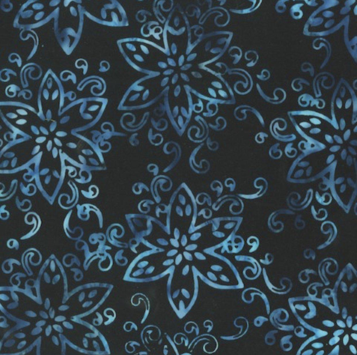 Anthology Batik - Blue Flowers