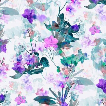 Belle Fleur Digital - Purple