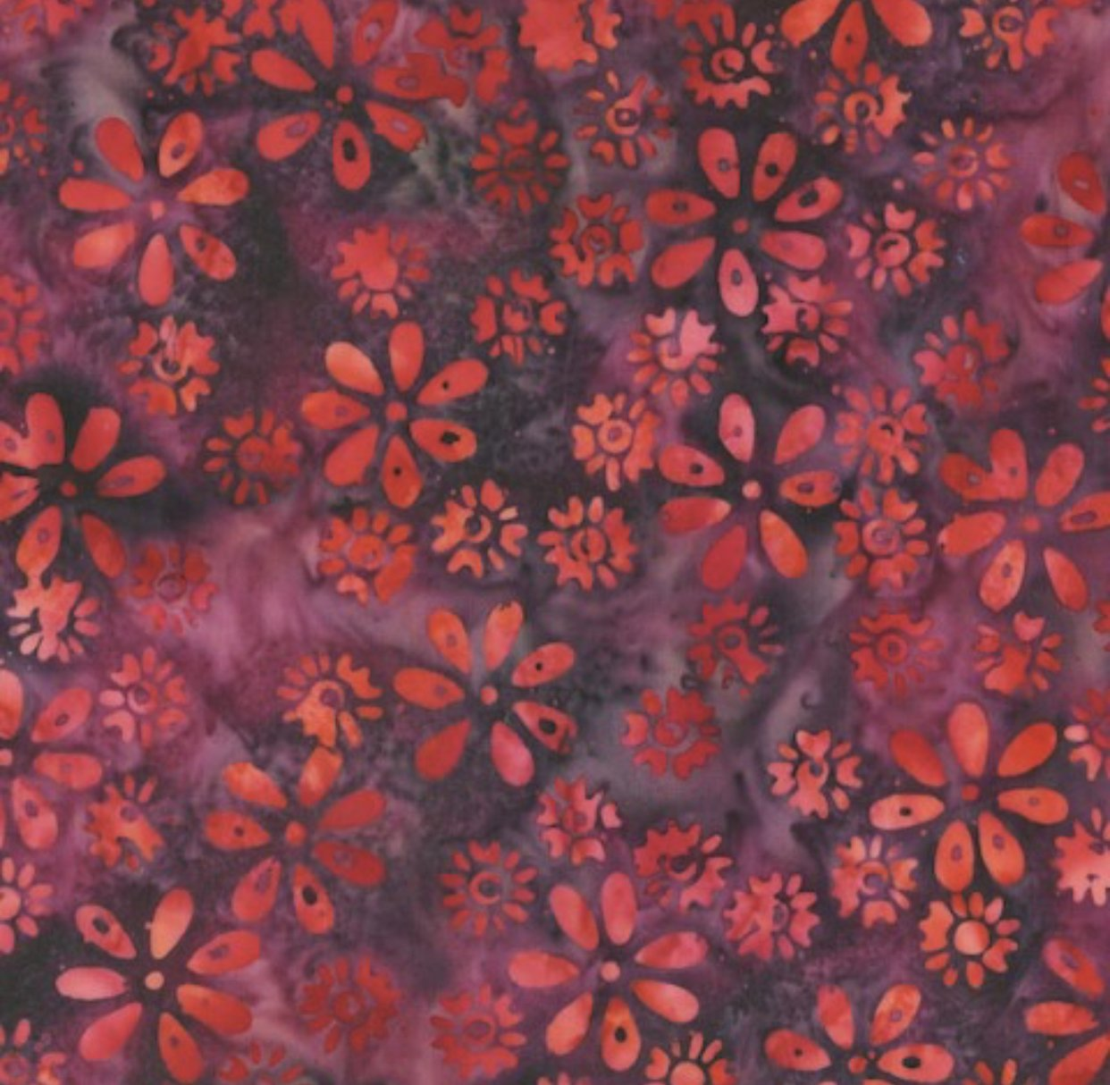 Anthology Batik - Red Flowers