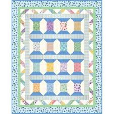 Cool Spools Quilt Kit by Lori Marvel 40 x 50