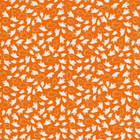 Holiday Essentials - Halloween Ghosts on Orange