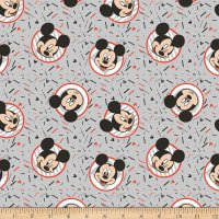 Mickey Confetti Party on Grey