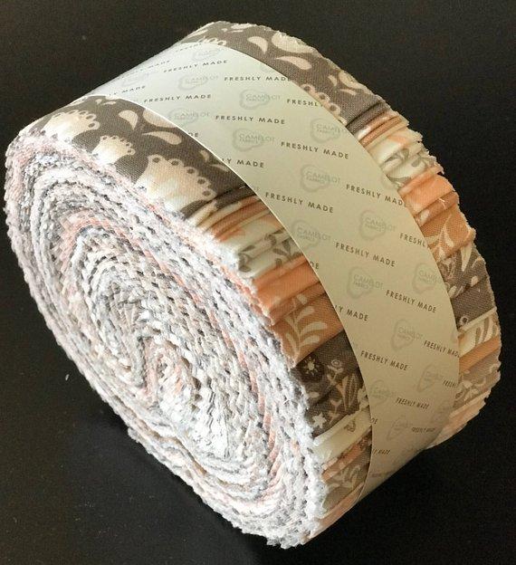 Olivia 2 1/2 Strips by Camelot Fabrics 40pcs