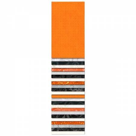 Number 1 Fan Essential Gems Orange/White/Black 24 2-1/2inx 44in Strips