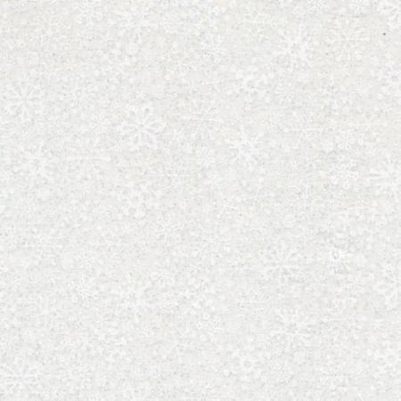 Festive Season - Snowflake White Tone on Tone with Silver
